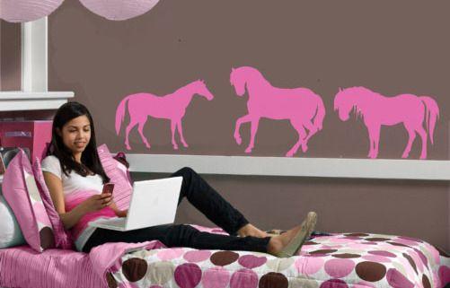 Large Horse childs Vinyl Wall Mural Art Sticker/Decal