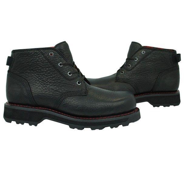 NEW Harley Davidson Ashbury Black Leather Mens Boots