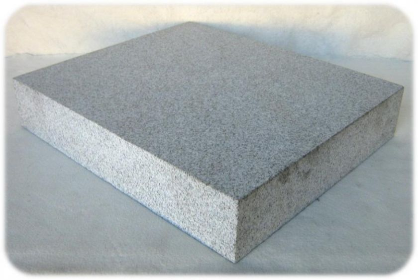 Custom Power Amplifier Vibration Isolation   Granite Stand 64lbs, 16